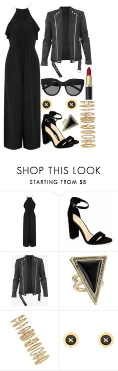"""nice"" by anja-104 ❤ liked on Polyvore featuring Zimmermann, Balmain, House of Harlow 1960, Forever 21, Ted Baker and Le Specs"