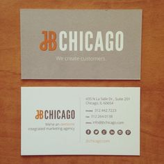 New business cards from July 2014!