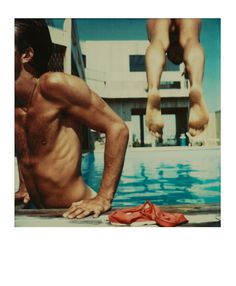 Via Tom Bianci's wonderful book of FIP polaroids. Title: Untitled, 250, Fire Island Pines, 1975-1983