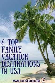 Family Vacation – Top 6 Kid-Friendly Destinations In USA 2018 6 Top-Familienurlaubsziele in den USA Top Family Vacations, Kid Friendly Vacations, Vacations In The Us, Family Vacation Destinations, Vacation Trips, Best Family Vacation Spots, Travel Destinations, Beach Vacations, Summer Vacation Ideas