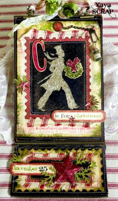 yaya scrap & more: Christmas tag http://yayascrap.blogspot.com/2013/11/sorpresa-country-view-challenges-guest.html