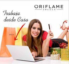Entra en mi blog y aprende como trabajar desde casa con Oriflame.