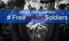 #FreeIranianSoldiers