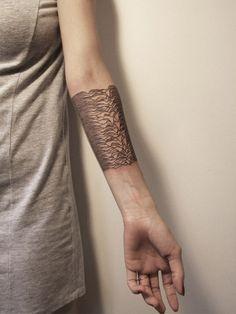 Unknown Pleasures, Gregorio Marangoni #tattoo