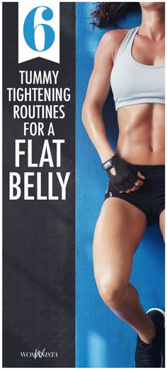 Move over, Spanx! There's more than one way to smooth and firm the belly before a big night out. his mini ab workout will help your stomach look flatter in less than 10 minutes. Womanista.com