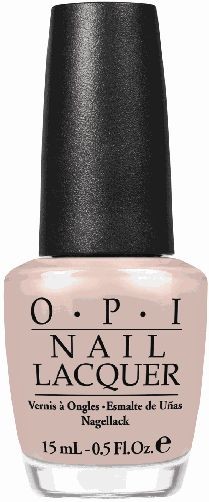 "OPI Germany Collection...  ""Don't Pretzel My Buttons""  A haute honey-beige that can always make you smile."