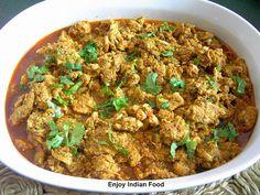 Enjoy Indian Food: Chicken Kolhapuri