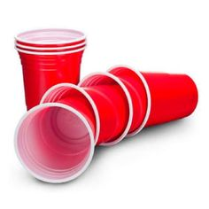 Amercian-16oz-Plastic-Red-Party-Cups-Beer-Pong-25-50-100-250-1000