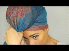Get cho scarf! Turban style