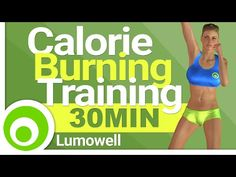 30 Minute Cardio Workout at Home - Calorie Burning Training Without Equipment - YouTube