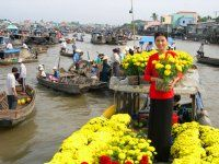 Tour Mekong Delta To Phu Quoc 1 Day Trip. The great journey incoporating the mighty Mekong Delta River and The paradise Phu Quoc Island, From the extreamely beautiful sceneries along the waterway to the unique bustling floating Cai Be market, and the speical images of the peaceful daily lifes of local people at rural area....