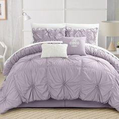 King Comforter Set Tufted Fabric Bedding Bedroom Bed Cover Duvet Bag Bedspread…
