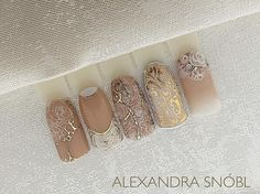 nail stamping with foil - Nail Stamping Nail Stamping Popular Nail Designs, Elegant Nail Designs, Nail Art Designs, Foil Nails, Glitter Nails, Nail Art Wheel, Nail Stamper, Nail Mania, Vintage Nails