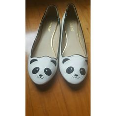 Panda flats New without box. Tried on but never worn. bamboo Shoes Flats & Loafers