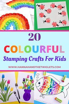 Diy Crafts For Tweens, Toddler Arts And Crafts, Adult Crafts, Fun Crafts For Kids, Preschool Crafts, Projects For Kids, Color Activities For Toddlers, Spring Activities, Toddler Activities