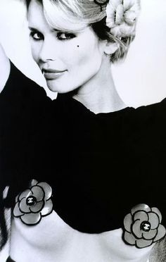 Claudia Schiffer by Karl Lagerfeld, 1994