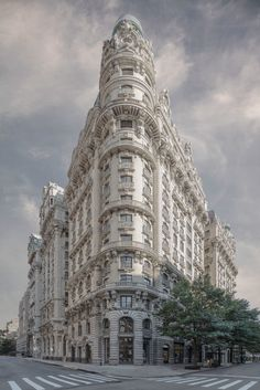 NYC's Busy Streets, Photoshopped Into Beautiful Desolation | The Ansonia | Credit: Marc Yankus | From Wired.com