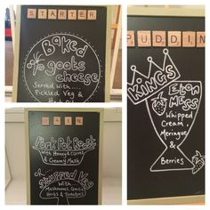 Brilliantly displayed wedding menu by the Bride and Groom! (They're teachers hence the blackboards... Cute right?!) #weddingmenu #weddingchalkboards #weddingplanner #wedding #englishwedding #englishcountrywedding #weddingbunting #tablescape #ivory #vintage #rustic #englishwedding #weddingvenue #venue #venuestyling #venuedecor #weddingdecor #weddingdecoration #rusticstylewedding #vintagestylewedding #rusticwedding #rusticstylewedding