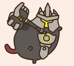 Pusheen Reinhardt by Eckru