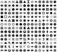 家紋 traditional Japanese family crests