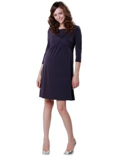 Sweet Mommy Twist Front Maternity and Nursing Dress « Clothing Impulse