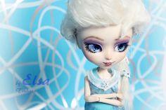 Elsa♥ Frozen Reine des neiges Pullip doll FC by Tsubasa . En vente sur Ebay ! : http://cgi.ebay.fr/ws/eBayISAPI.dll?ViewItem&item=171255855742&ssPageName=STRK:MESELX:IT&_trksid=p3984.m1558.l2649