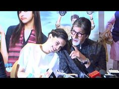 Amitabh Bachchan FUNNY and WITTY at PIKU's press conference.