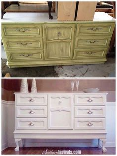 Making Over An Antique Sideboard Buffet | The Client Files - Southern Revivals