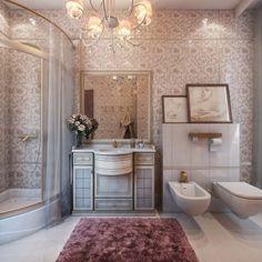 Image on Small Design Ideas  http://www.smalldesignideas.com/wp-content/uploads/2015/04/Bathroom-Classic-design.jpg