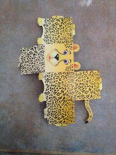 Printable project - cheetah