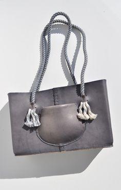 pocket tote bag in hema black - eatable of many orders
