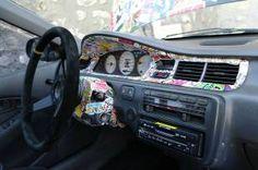 Car Decals, Bumper Stickers, Car Head, Sticker Bomb, Car Mods, Cute Cars, Future Car, Honda Accord, Car Detailing