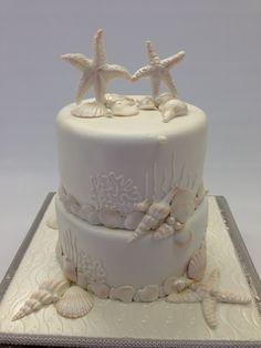 Sea Shell Cake. CakeSuppliesDepot.com