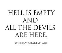 A quote from Shakespeare, we believe society is the demon holding us back. William Shakespeare, Citation Shakespeare, Girl Quotes, Me Quotes, Motivational Quotes, Funny Quotes, Inspirational Quotes, Scary Quotes, Funny Facts