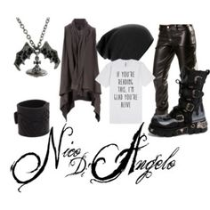 """Nico di Angelo - Male"" by hinoki on Polyvore"