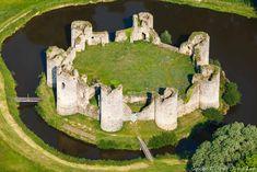 ✈️ Photo aérienne du château de Commequiers, Vendée