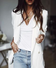 White coat #whiteblazer #whitecoat