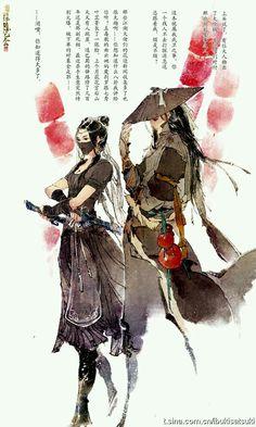 Male and Female: Samurai