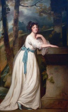 The Athenaeum - Portrait of Mrs Andrew Reid (George Romney - ) Located in the Kimball Art Museum, Fort Worth.
