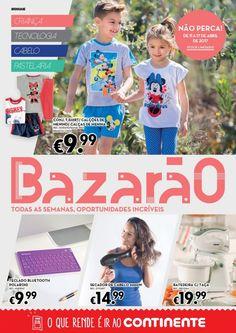 Folheto Continente Bazarão promoções em vigor de 11 a 17 Abril. #Continente #promoções