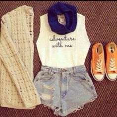 Cute outfit idea for the summer:)