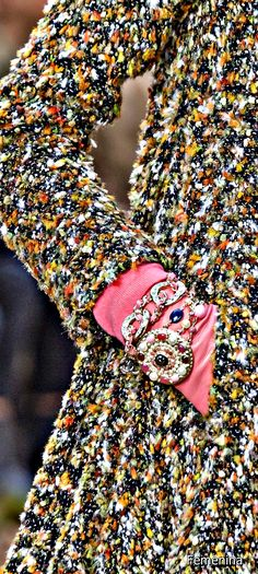 Chanel Fall / Winter 2018 - Detail #chanel