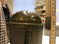 An unknow medieval lantern from Hälsingland | historical textiles Lantern Lamp, Candle Lamp, Candles, Antique Lanterns, Medieval, Textiles, Antiques, Metal, American War