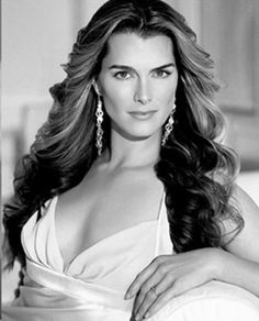 Brooke Shields - pictures of her in her Calvin's were on every bus, billboard and magazine in New York City. We were shooting her for some New York Time's ad's I think. She came in shy and quiet and sweet. Then there was Terri.