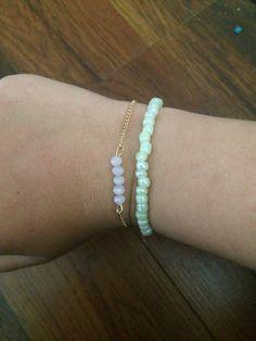 Made by myself Delicate, Bracelets, Jewelry, Fashion, Moda, Jewlery, Jewerly, Fashion Styles, Schmuck