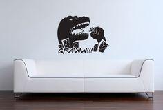 GODZILLA Vinyl Wall Art/Decal Swimming by InspirationsByAmelia