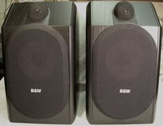 Excellent B&W Bowers & Wilkins CDM1 Bookshelf Audio Loudspeaker England LOOK NR #BW