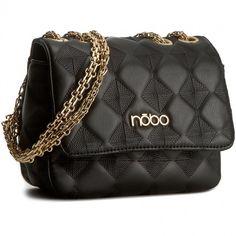 Torebka NOBO - NBAG-C1040-C020 Czarny Chanel, Shoulder Bag, Classic, Bags, Fashion, Derby, Handbags, Moda, Fashion Styles