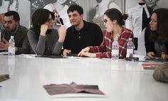 Students of Fashion Design Master Program at DIESEL workshop