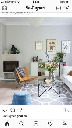 Living Room Designs, Living Spaces, Studio Mcgee, The Doors, Barcelona Chair, Farrow Ball, Living Room Interior, Room Inspiration, Corner Desk